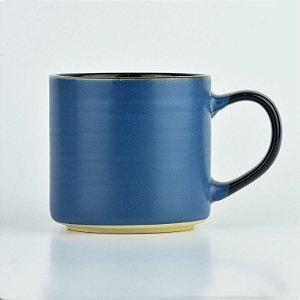 Caneca Dark Azul em Cerâmica