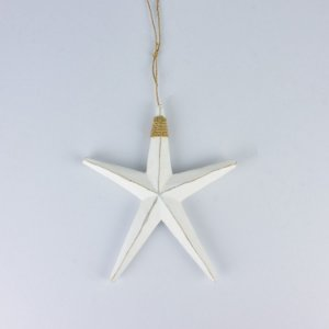 Estrela do Mar Rústica Branca