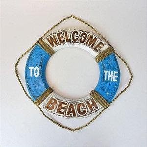 Bóia Welcome Beach 40 cm Azul Claro