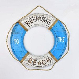 Bóia Welcome Beach 50 cm Azul Claro