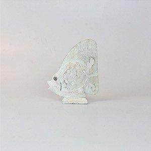 Enfeite Peixe Branco P