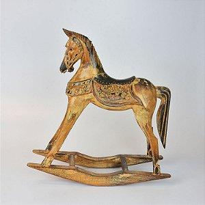 Cavalo de Balanço Rústico G