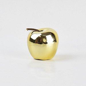 Enfeite Apple Dourada