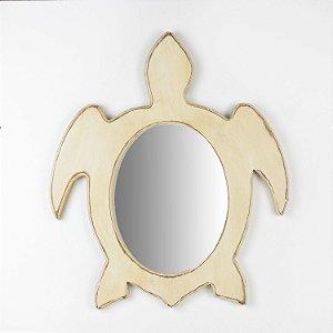 Espelho Tartaruga Branco
