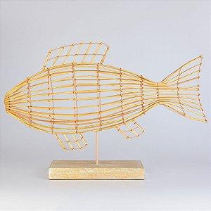 Enfeite Aramado Peixe Decor
