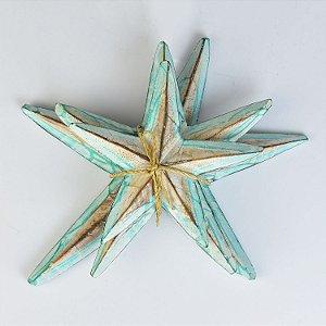 Enfeite Estrela do Mar Verde Claro