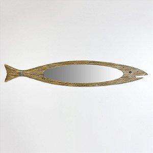 Espelho Peixe Rústico