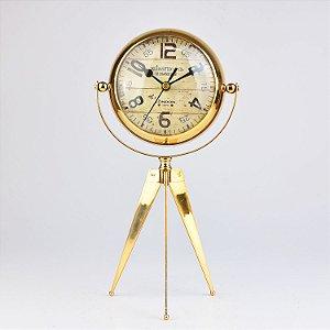 Relógio Gold com Tripé