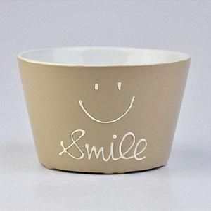 Bowl Ramekin Smile Marrom