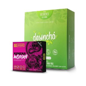 Kit Desinchá 60 Sachês + Kimera Woman 60Tabs