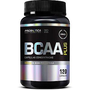 BCAA Plus (800mg / 120 caps) / Probiótica