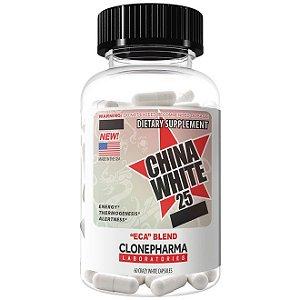 China White 25 (60caps) / Clone Pharma