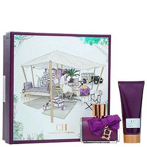 Perfume Kit CH Sublime Perfume Feminino  Eau De Parfum 80ML + Loção Corporal 80ML