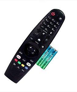 Controle Compatível Smart Tv 4k OLED Séries 7 8 9 S/ Voz -Não é Magic +Pilhas