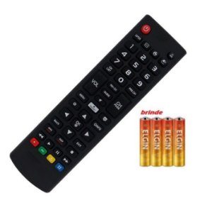 Controle Remoto Compativel Universal com Samsung e Lg + Pilhas