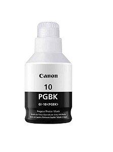 Refil Tinta Original Canon Preto Gi-10 Gi10 GI-10BK 170ml