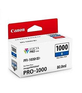 Cartucho Original Canon Pfi1000 Blue PRO-1000 expirad 07/2017