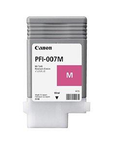 Cartucho Canon Pfi007m PFI-007 Magenta Ipf670 Expirad 03/2021
