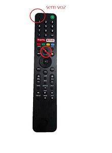 Controle Tv Sony G.Play Netflix s/voz 55X855G 55X955G 75X905G