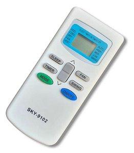 Controle Ar Condicionado Philco Split PH7000f Cra01 +pilhas