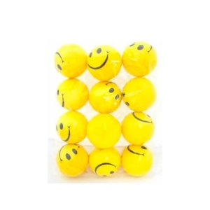 Kit 5 Bolinhas De Apertar Anti Stress Sorriso