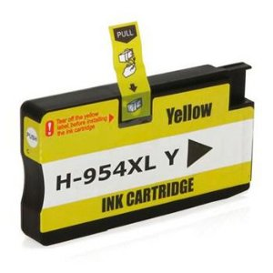 Cartucho Compatível  954 954XL L0s68ab Yellow Pro 7740 8710 8720 8740 8210 8716 8725 8700 25Ml