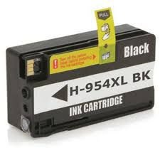 Cartucho Compatível Hp 954 954XL L0s71ab Black Pro 7740 8710 8720 8740 8210 8716 8725 8700 50Ml