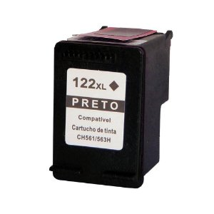 Cartucho Compativel HP 122xl Black Ch563hb HP Deskjet D1000 1010 1050 D2000 2540 2050 3000 3050 12ml