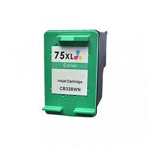 Cartucho Compativel Hp 75 75xl color Photosmart C4480 C4280 C5280 13ml
