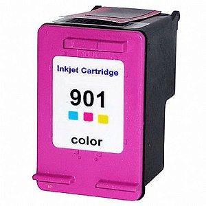 Cartucho Compativel 901 Hp901 Color Cc656ab 4540 J4550 J4580 J4660 13ml