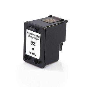 Cartucho Compatível HP 92 C9362WB Preto D4100 6210 2570 PSC-1507 8ml