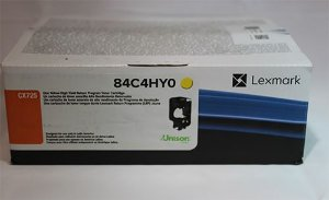 Toner Original Lexmark Yellow Cx725 Cx-725 84C4HY0 16k