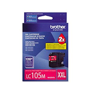 Cartucho Original Brother Lc-105 Lc105 Lc-105m Magenta MFC-J4510DW MFC-J4610DW MFC-J4410DW 12ml