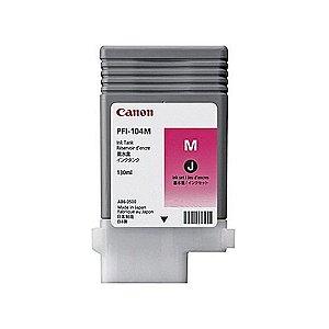 Cartucho Original Canon Pfi-104m Pfi104m Magenta Ipf650 Ipf655 Ipf750 Ipf755