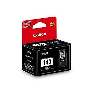 Cartucho Original Canon Pg140 Pg 140 Black Pixma Mg 2110 3210 4110 Mx 431 371 8Ml