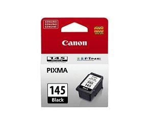 Cartucho Original Canon Pg145 Pg 145 Preto Pixma MG2410 MG2510 MG2910 Ts3110 Mg3010