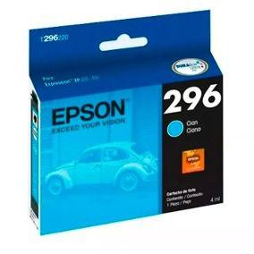 Cartucho Original Epson 296 T2962 T296220 Cyan XP-231 XP-241 XP-431 XP-441 4ml