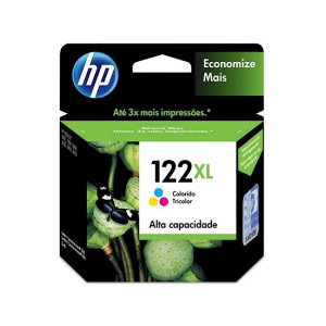 Cartucho Original HP 122xl Color Ch564hb HP Deskjet D1000 1010 1050 D2000 2050 3000 3050 7,5ml