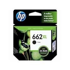 Cartucho Original HP 662xl Black Cz105ab HP Deskjet 1015 2516 2546 3516 3546 4645 2510 2540 6,5ml
