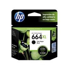 Cartucho Original HP 664xl Black F6v31ab HP Deskjet 1115 2136 3636 4536 3635 3776 3788 4676 8,5ml