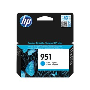 Cartucho Original HP 951 Cyan Cn050ab HP Officejet Pro 8100 8600 M276dw 8610 8620 8630 M251 8ml