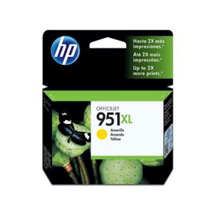 Cartucho Original HP 951xl Yellow Cn048ab HP Officejet Pro 8100 8600 M276dw 8610 8620 8630 M251 17ml