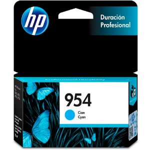 Cartucho Original Hp 954 Cyan L0s50ab Officejet Pro 7720 7740 8710 8715 8720 8716 8725 8210 8740 10ml