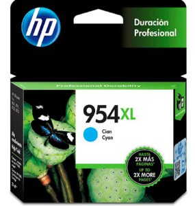 Cartucho Original Hp 954xl Cyan L0s62ab Officejet Pro 8700 8710 8715 8720 8716 8725 8210 8740 20,5ml