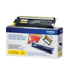 Toner Original Brother Tn-210 Tn210 Yellow Hl-3040 Hl-3070 Mfc-9010 Mfc-9120 Mfc-9320 2.2k