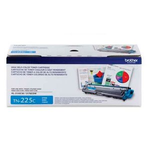 Toner Original Brother Tn225 Tn-225 Cyan Brother Hl3140 Hl3170 Mfc9130 Mfc9330 Mfc9020  | 2.2k