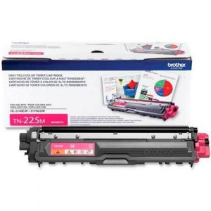 Toner Original Brother Tn225 Tn-225 Magenta | Brother Hl3140 Hl3170 Mfc9130 Mfc9330 Mfc9020  | 2.2k