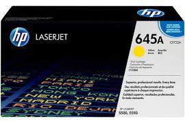 Toner Original Hp C9732a 645a Yellow   Hp Laserjet5500 5550   Rendimento: 12k