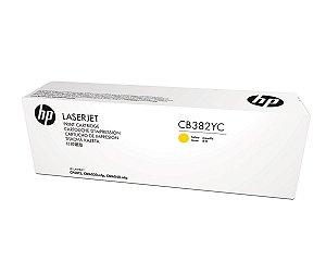 Toner Original Hp Cb382yc Cb382a 824a Yellow Cp6015 Cp6015dn Cm6030 Cm6040 | 21k