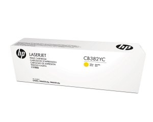 Toner Original  Cb382yc Cb382a 824a Yellow Cp6015 Cp6015dn Cm6030 Cm6040 | 21k